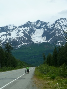Fireweed Bike Race, Sheep Mountain to Valdez