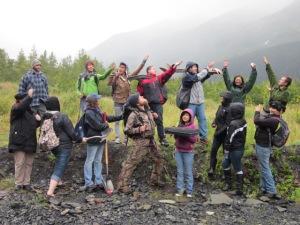 Contextual field trip to Portage Glacier area