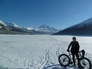 Fat Tire Biking at Eklutna
