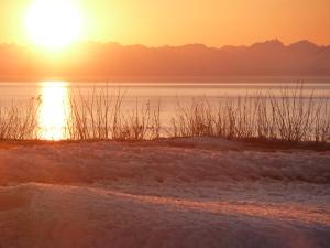 Ninilchik, AK-sunset