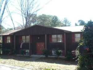 My childhood home in Conyers, Ga.