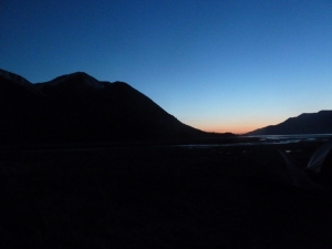 Sleep well sun! Hope, AK