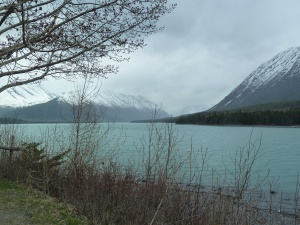 Kenai Lake in Coopers Landing