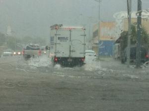 Typical Charleston Post-rain situation