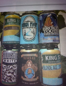 A variety of AK breweries are now offering cans