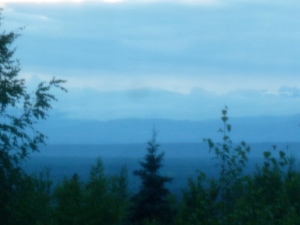 View from room, Talkeetna, AK