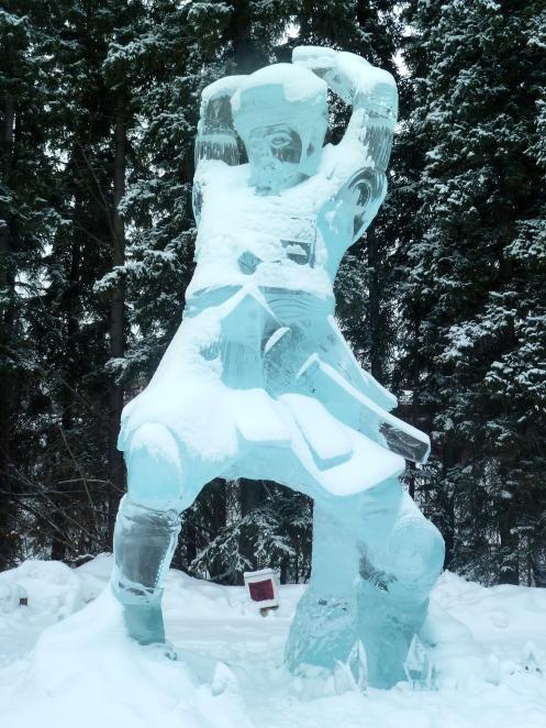 Chop, Ice Art 2013