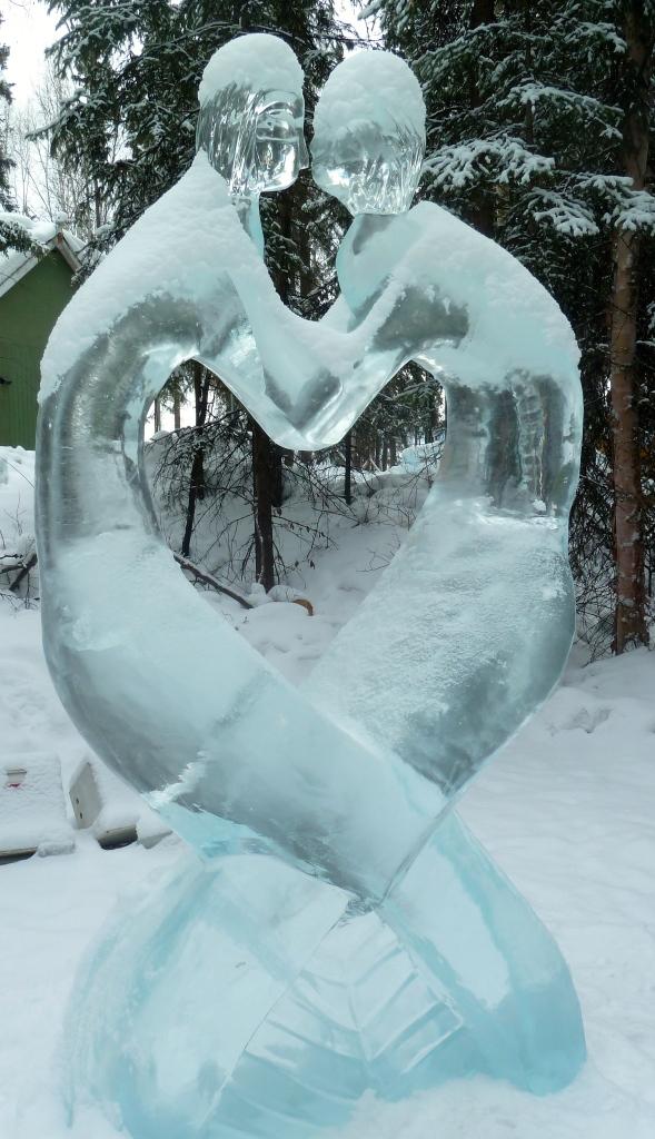Spiritual Connection, Ice Art 2013