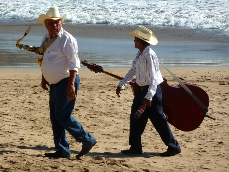 Chacala was full of traditional musicians playing from the heart!