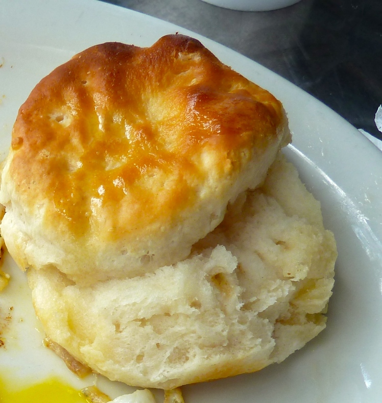 Melt in your mouth southern biscuits-worth every calorie and every additional exercise minute I had to do to burn it off!