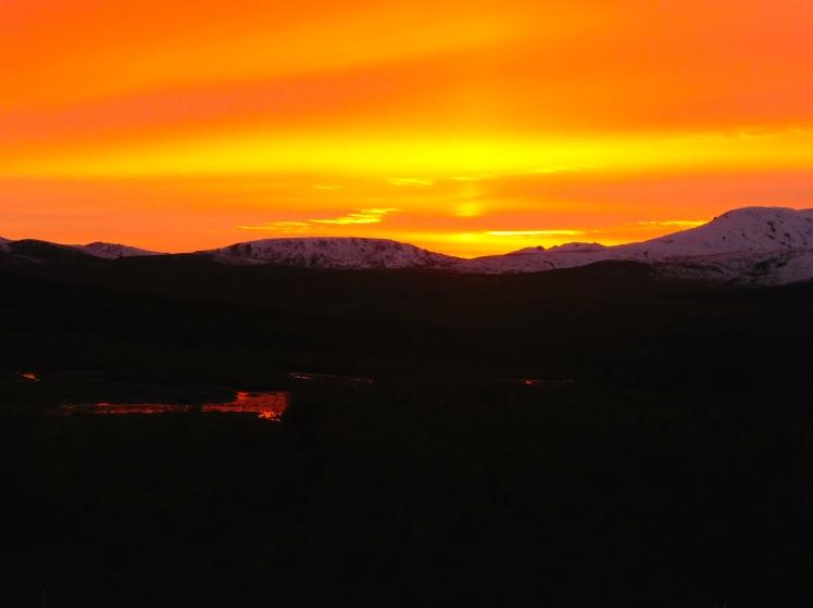 Sunset at Savage River