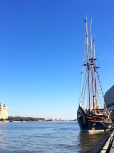 The Peachmaker on Savannah River