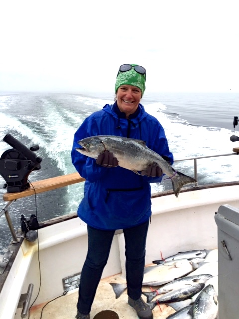 My first King Salmon!